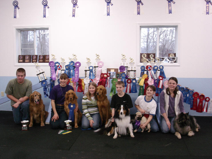 Blue Ribbon 4H Students  2004
